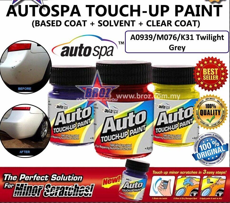 AUTOSPA Touch Up Paint Teana 3pcs/Set (Base Coat + Solvent + Clear Coat)