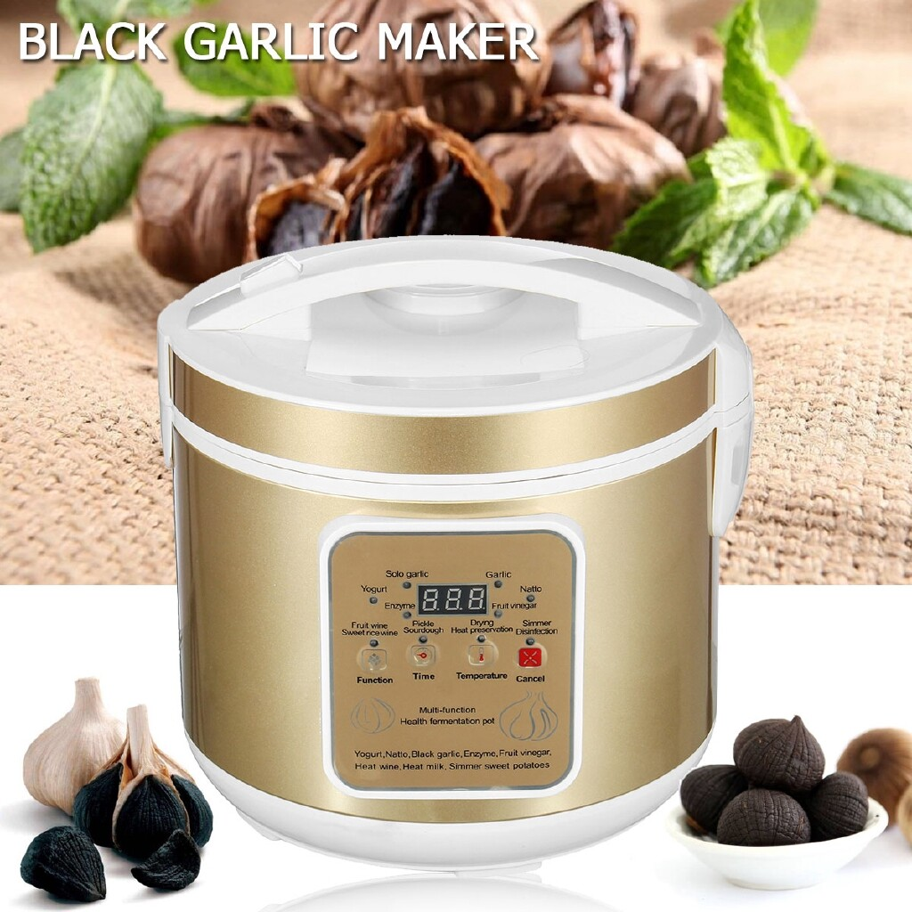 Specialty Cookware - 6L Black Garlic Fermenter Automatic Maker Machine 360 Stereo Heating - Small Kitchen Appliances
