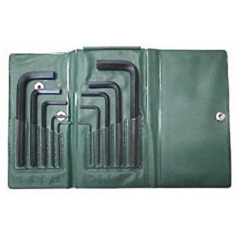 Allen Key Set - 10pcs Wallet Hex Wrench - AF