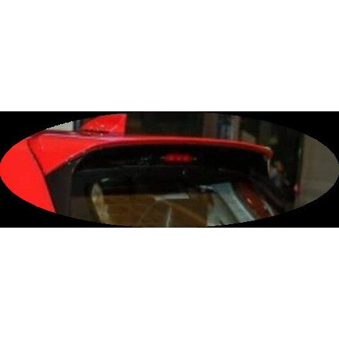 Perodua Myvi 2018 Injection OEM Rear Spoiler with Paint