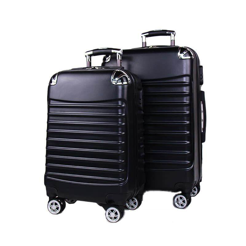 [M'sia Warehouse Direct] 2019 Premium High Quality 20 /24  Luggage Big Capacity Organisation Compartment PC SRS ABS Multipurpose Travel Ultralight Big Capacity Stylish Luxury Luggage With Wheel Perfect Choice For Travel Four Season