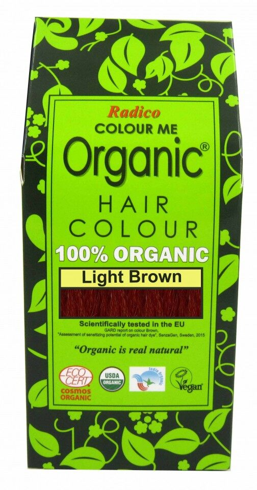 [MPLUS] Radico 100% Organic Hair Colour Powder 100G - Available in 22 Colours