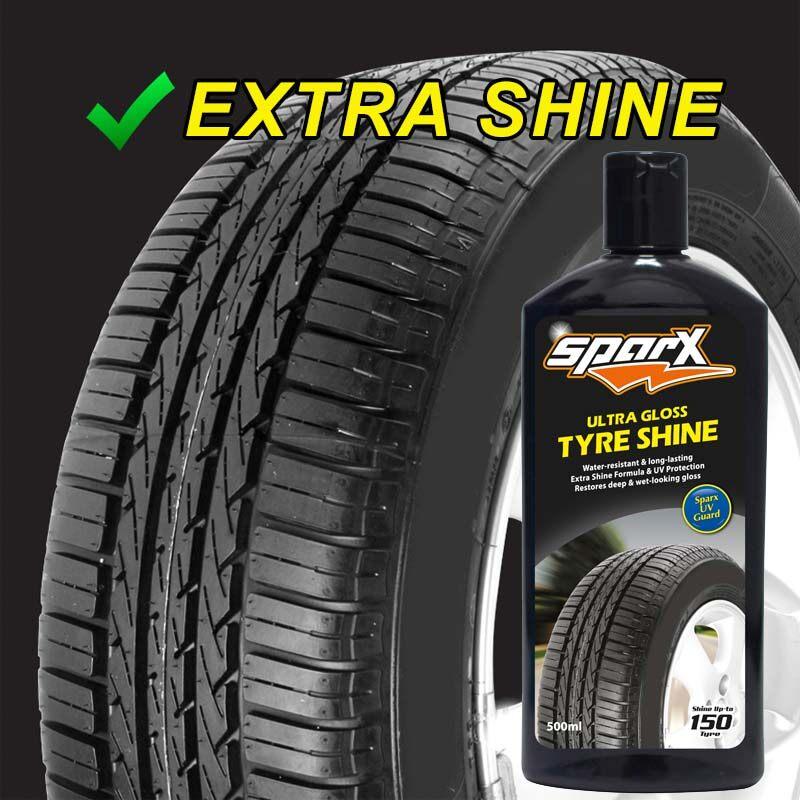 SPARX Ultra Gloss Tyre Shine 500ml