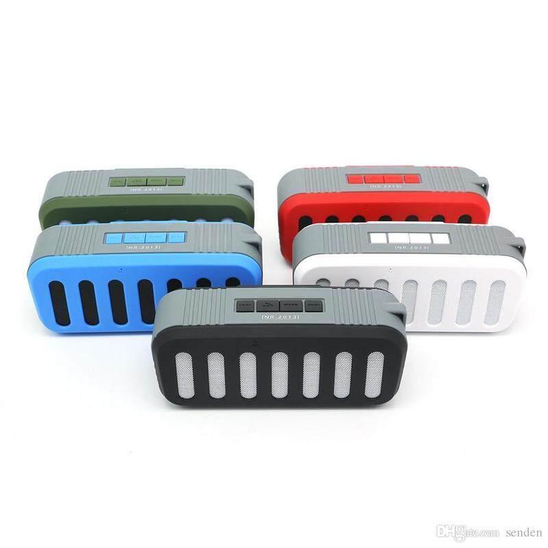 New Rixing Wireless Bluetooth Speaker - Nr-2013 BLACK