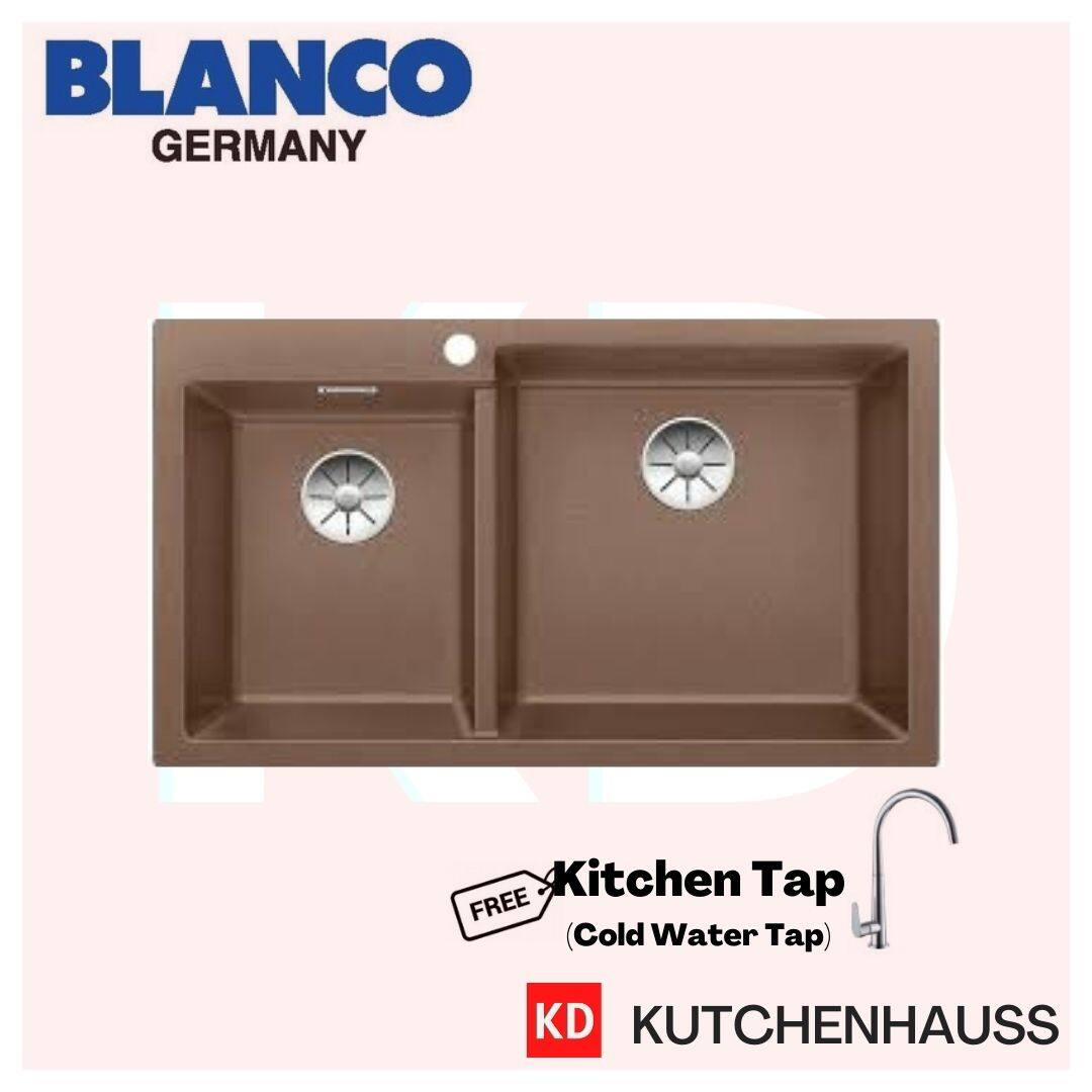 Blanco Pleon 9 Topmount Double Bowls Granite Sink / Free Tap / Double Bowls / Topmount Sink / Blanco Sink / Blanco / Sink / Granite / Kutchenhauss