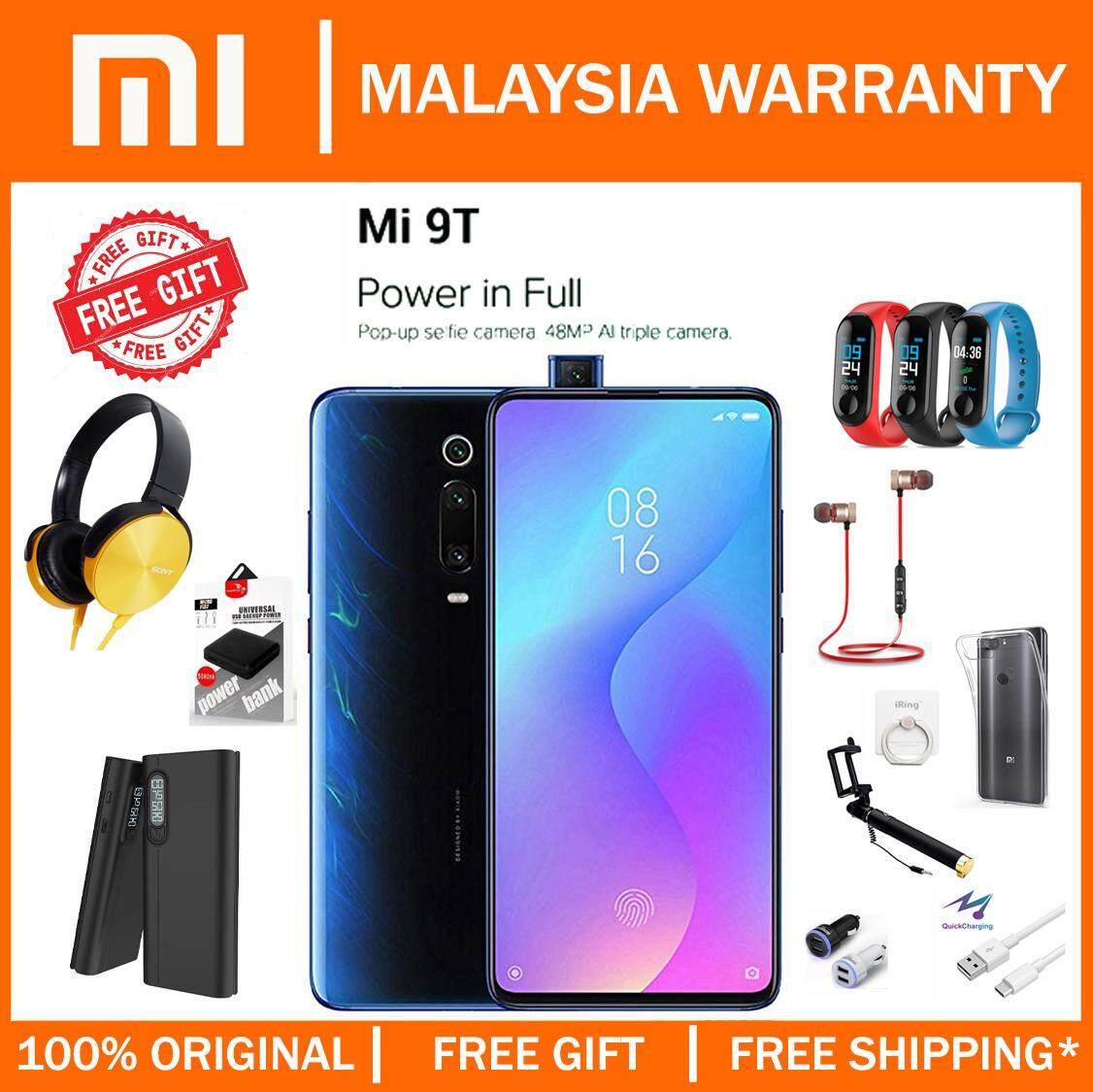 [MY SET] Xiaomi Mi 9T (6GB+128GB) Smartphone Original Malaysia Warranty