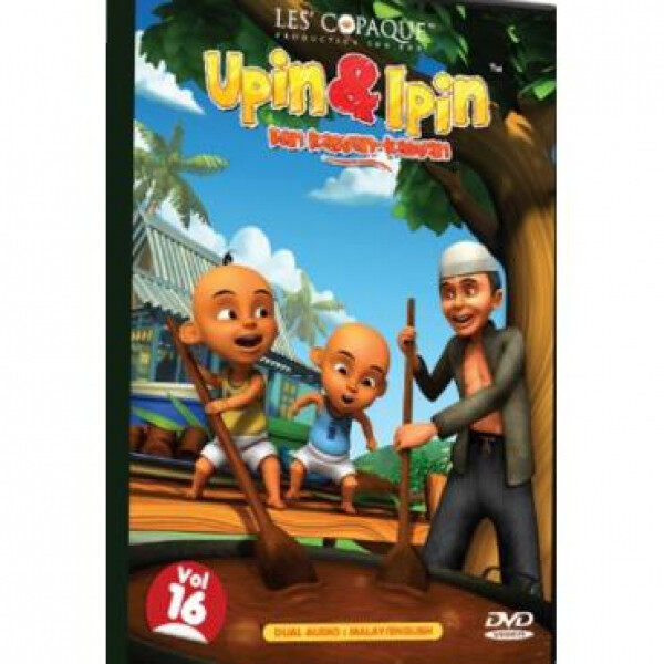 Upin & Ipin Dan Kawan-Kawan Volume 16 DVD
