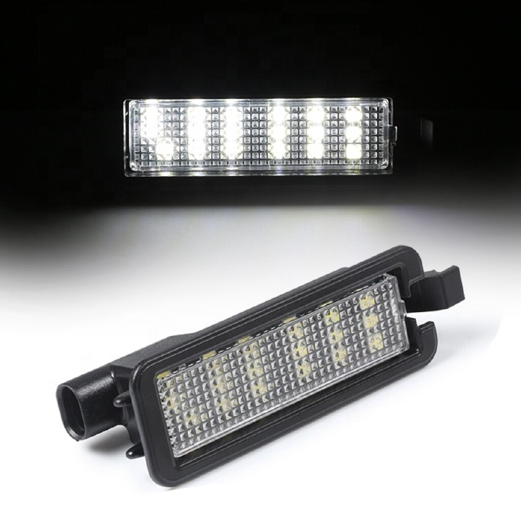 Car Lights - LED License Number Plate Light For Dodge Charger Challenger Chrysler 300 15-18 - Replacement Parts
