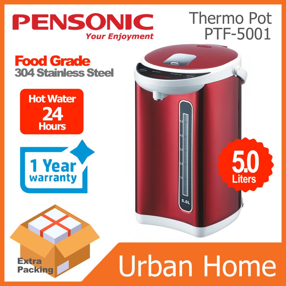 PENSONIC 5.0L Red Electrical Thermo Flask Pot Termos Elektrik Merah (PTF-5001/PTF5001)
