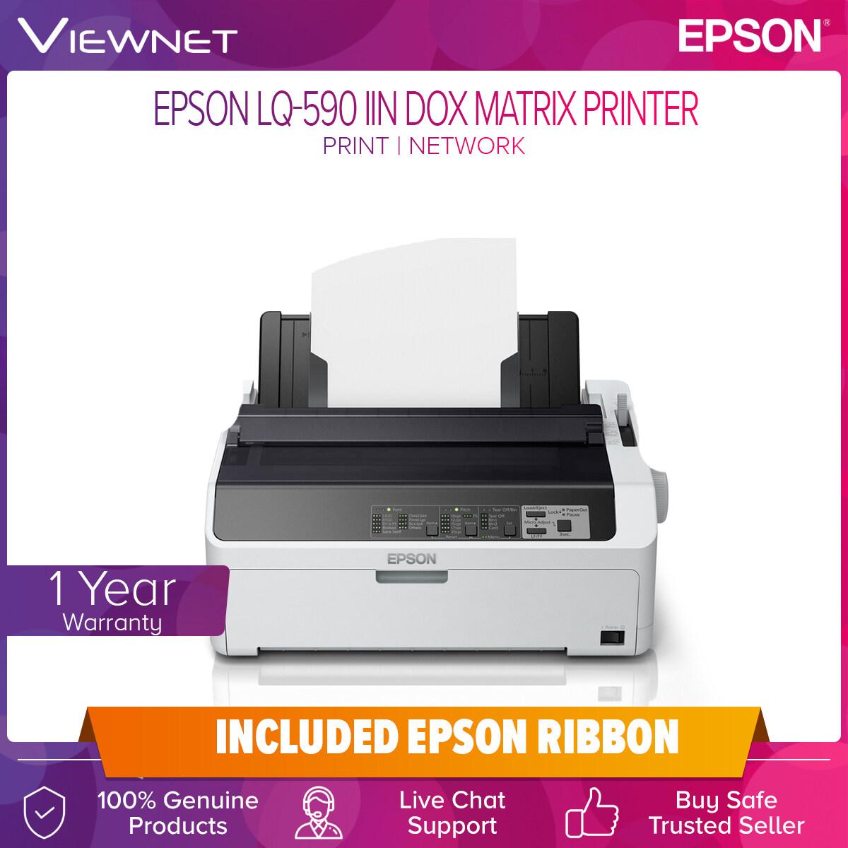 Epson LQ-590 IIN Dot Matrix (Network) Printer