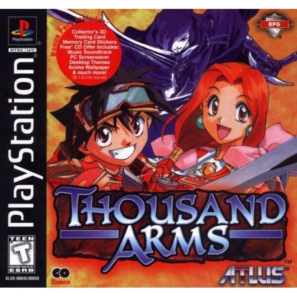 PS1 Thousand Arms [2 DVD]