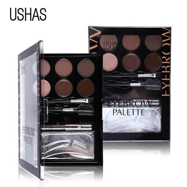 FREE GIFTUSHAS Professional Makeup Eyebrow Palette Kit Sets
