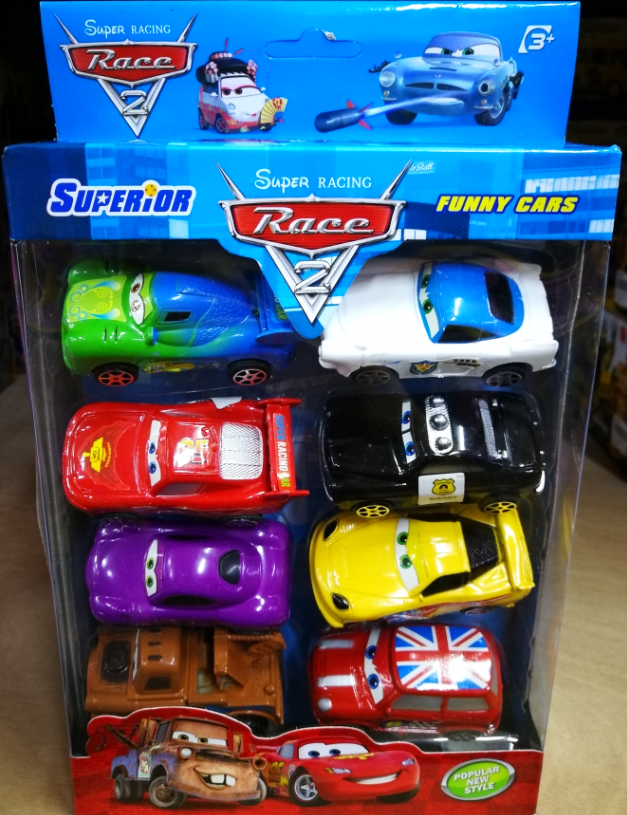 Kids Toy - Super Racing Race Series Mini Model Vehicles Car baby toys