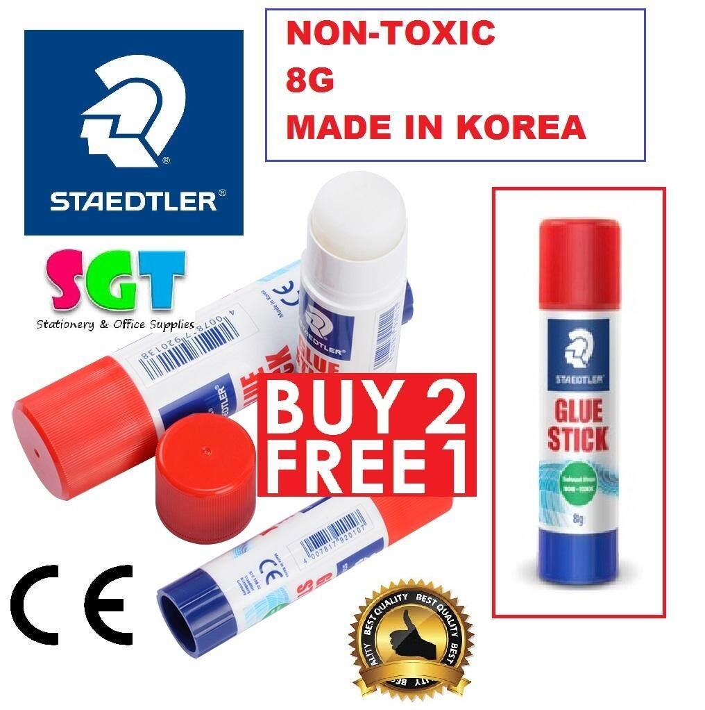 Staedtler 8G Glue Stick (Buy 2 Get 1 Free) 3pcs/Pack