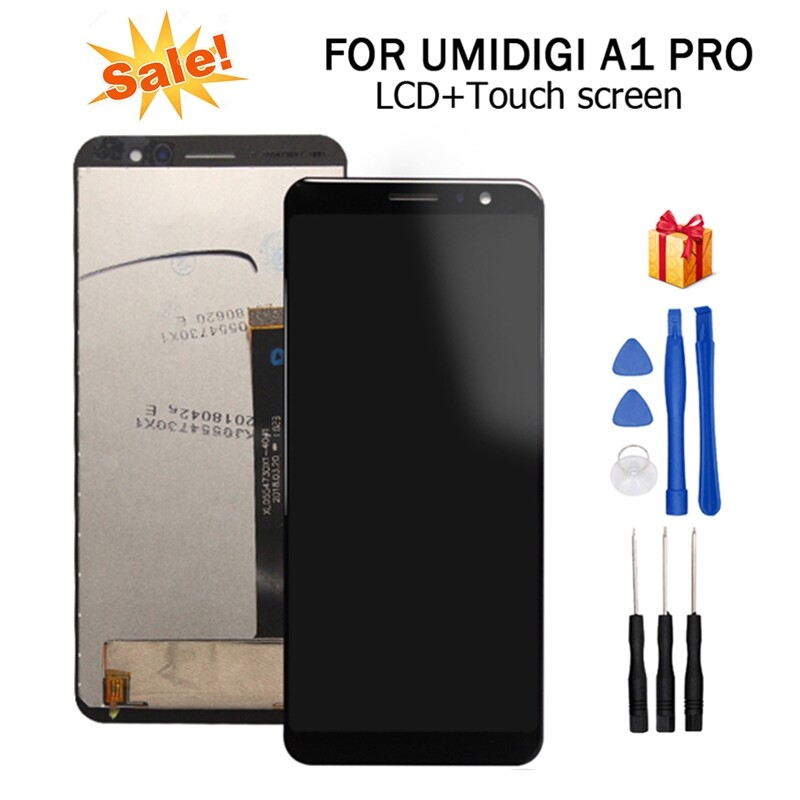For 5.5 UMI UMIDIGI A1 Pro LCD Display+Touch Screen Digitizer Assembly + Tools