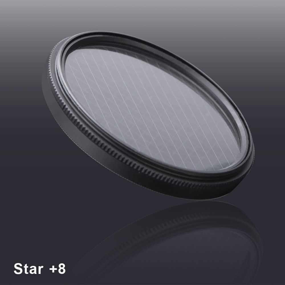 Andoer 67mm UV+CPL+Close-Up+4 +Star 8-Point Filter Circular Filter Kit Circular Polarizer Filter Macro Close-Up Star 8-Point Filter with Bag for Nikon Canon Pentax Sony DSLR Camera (Standard)