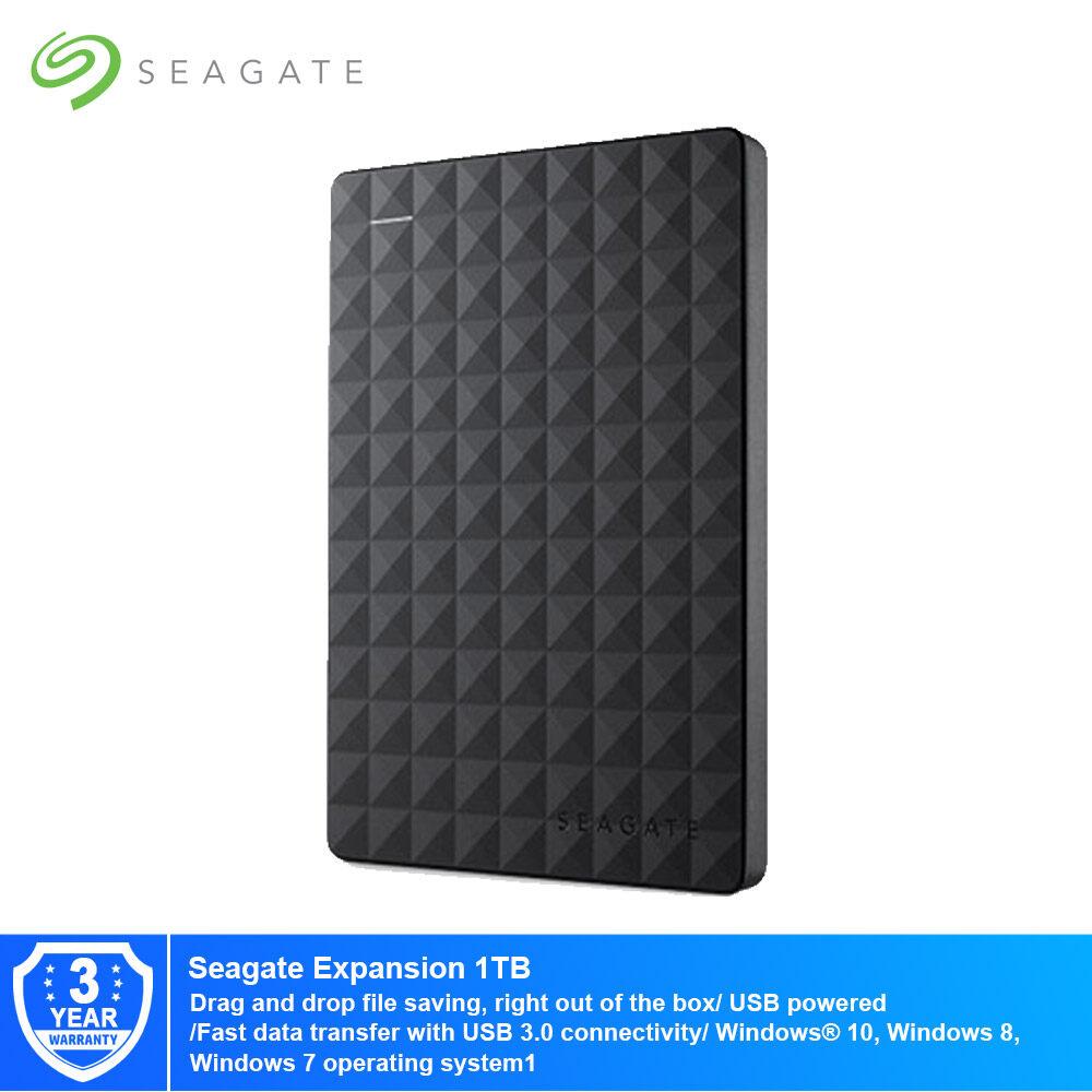 Seagate Expansion 2.5-Inch Portable Drive - Black - 1TB/1.5TB/2TB/4TB