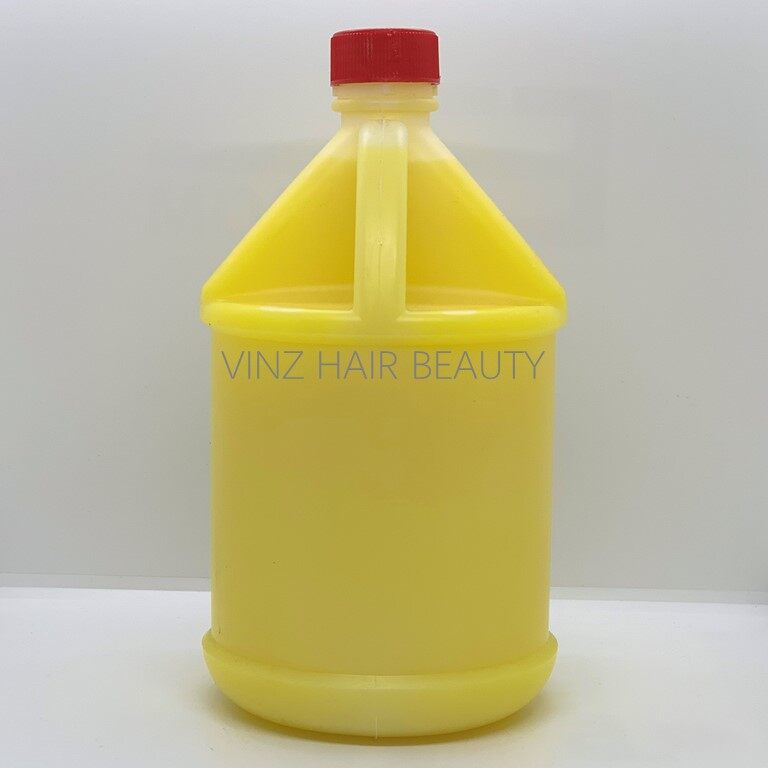 Gallon Yellow Lemonade Hair Conditioner Salon Pack 3000ml