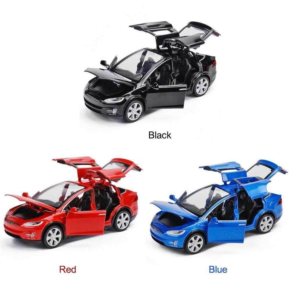 Best Selling Diecast Toy 1:32 Scale Alloy Cars for Tesla Toy Model (black)