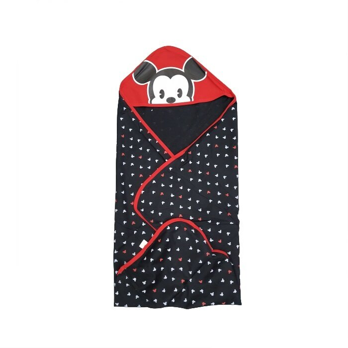 HAIRperone Baby Mickey Hooded Blanket (H73 x W74cm) Bedung Bayi Selimut