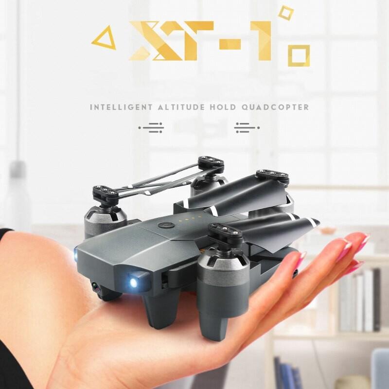 XT-1 Quadcopter 1080P 120 Degree HD Camera LED Lighting Fixed High Folding UAV - WAC / 0.3MP / 2MP