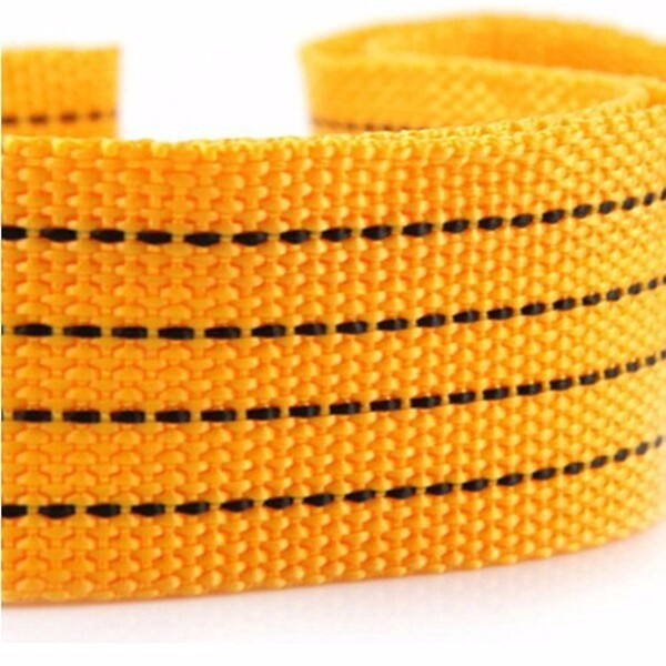 Automotive Tools & Equipment - 3M 3T Nylon Car Tow Rope Traction with Steel Hook Emergency Car Tool - Car Replacement Parts
