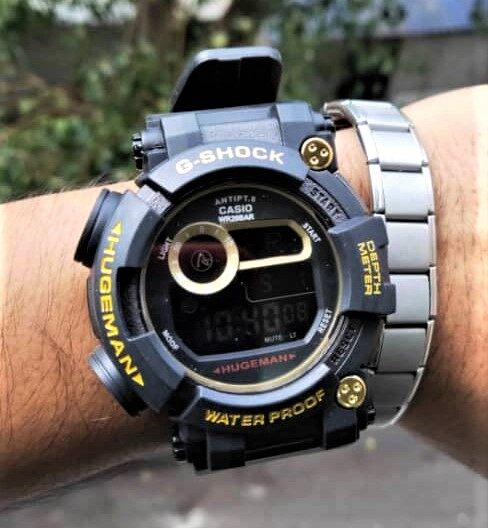 New Fashion_Casio_G-Shock_Digital Time Display Sports Design Shock 100m Water Resistant Watch For Men