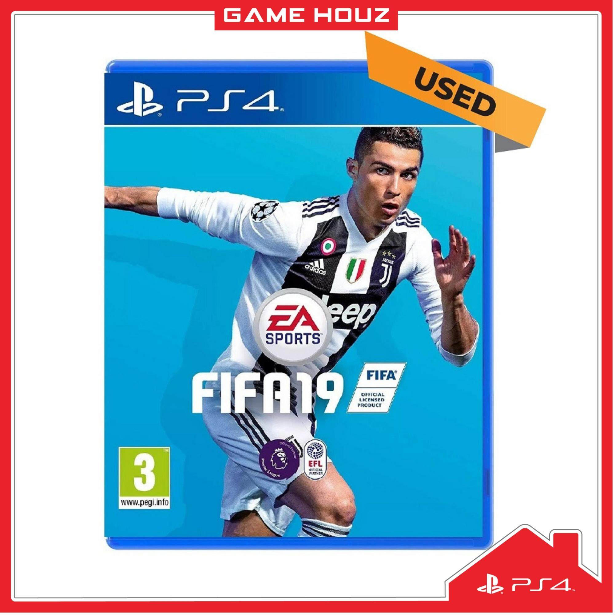 (PS4) FIFA 19 (R3/ENG/CHN) - Used
