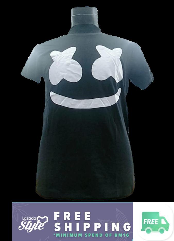 Ready Stock- Korean Style Men Short Sleeve T Shirt Collection 296 (5 Design for Selection) M-1002 Design 7