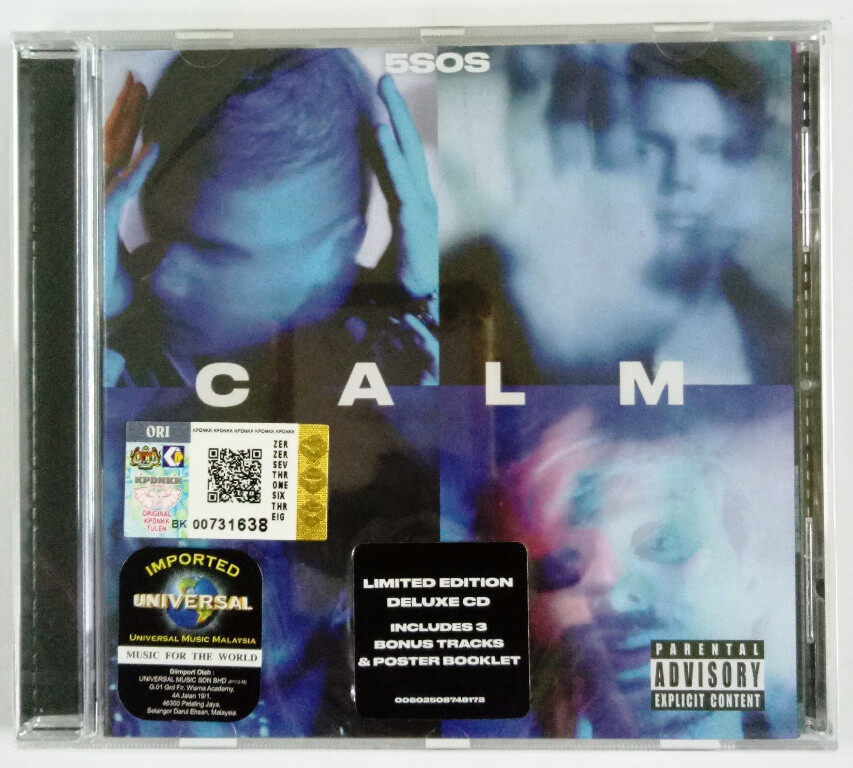 5 Seconds Of Summer 5SOS - Calm Deluxe Edition Imported CD EU Pressed
