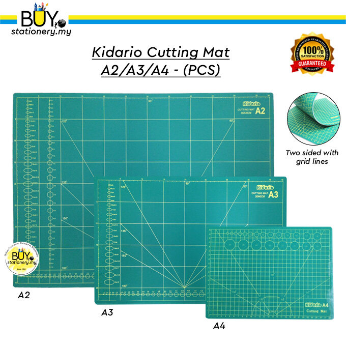 Kidario Cutting Mat A2/A3/A4 - (PCS)
