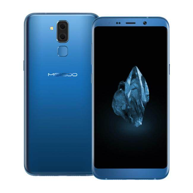MEIIGOO S8 4GB RAM 64GB ROM MTK6750T 1.5GHz Octa Core Mobile Phone 6.1 Inch 3D Curved Bezel-less FHD+ Screen Dual Camera Android 7.0 4G LTE Dual Smart Phone