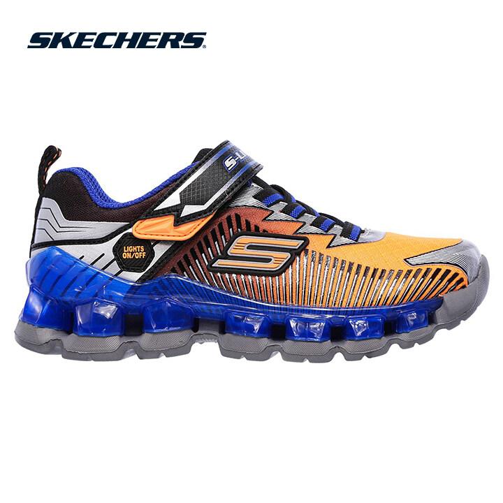 Skechers Flashpod Boys Lifestyle Shoe - 90293L-ORBL