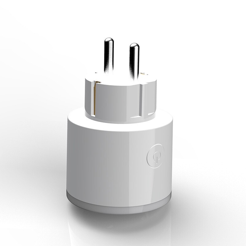 Chargers - (EU Plug)WiFi Smart MINI Plug Socket Voice Controlled Timer Switch with RGB Light Ring for - Cables