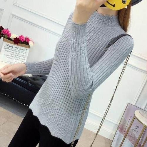 (Pre Order14 Days JYS Fashion Korean Style Women Knit TopCollection526-2755col525a-2755--Grey-L