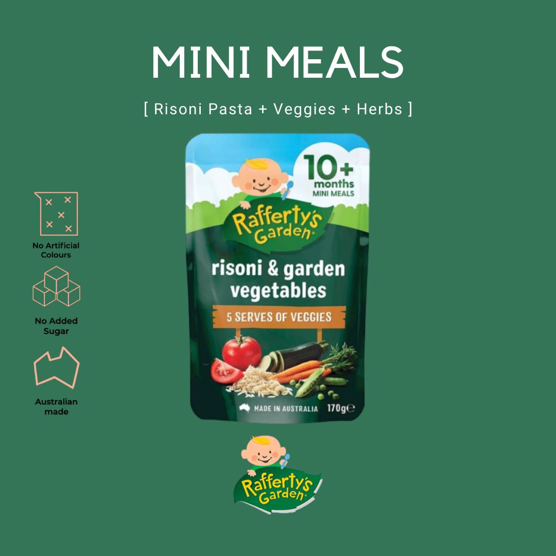 Rafferty\'s Garden Risoni & Garden Vegetables Baby Mini Meal
