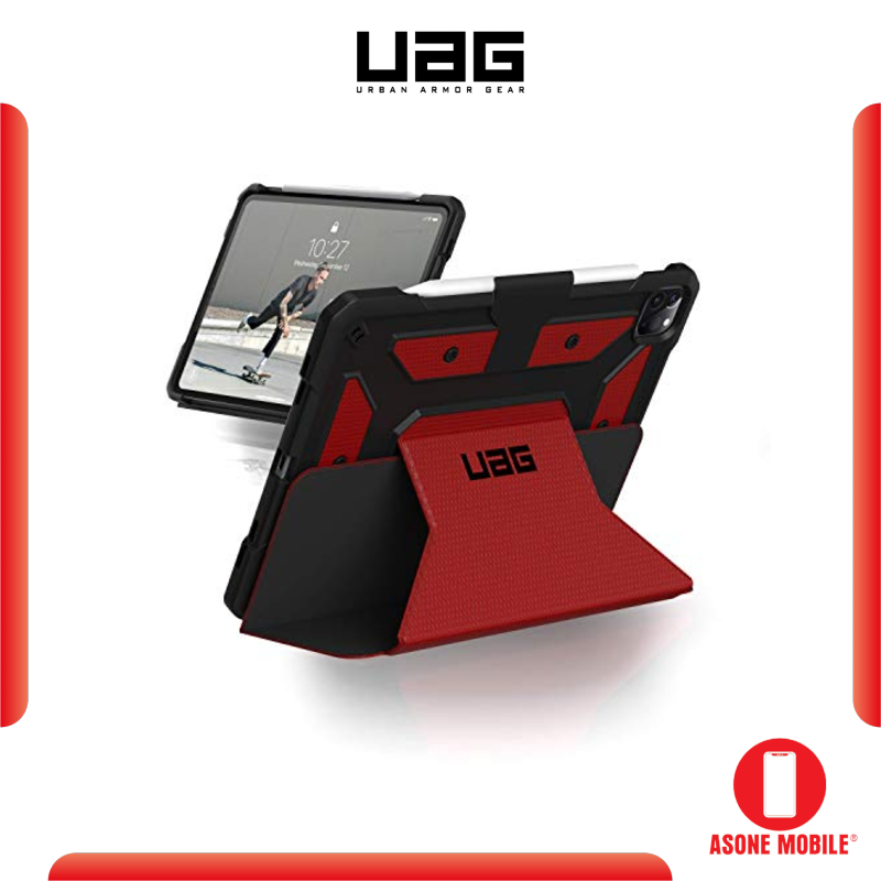 Original UAG iPad Pro 11 / 12.9 inch 2020 Case Metropolis Folio Slim Heavy-Duty Tough Multi-Viewing Angles Stand Military Drop Tested Rugged Protective Cover