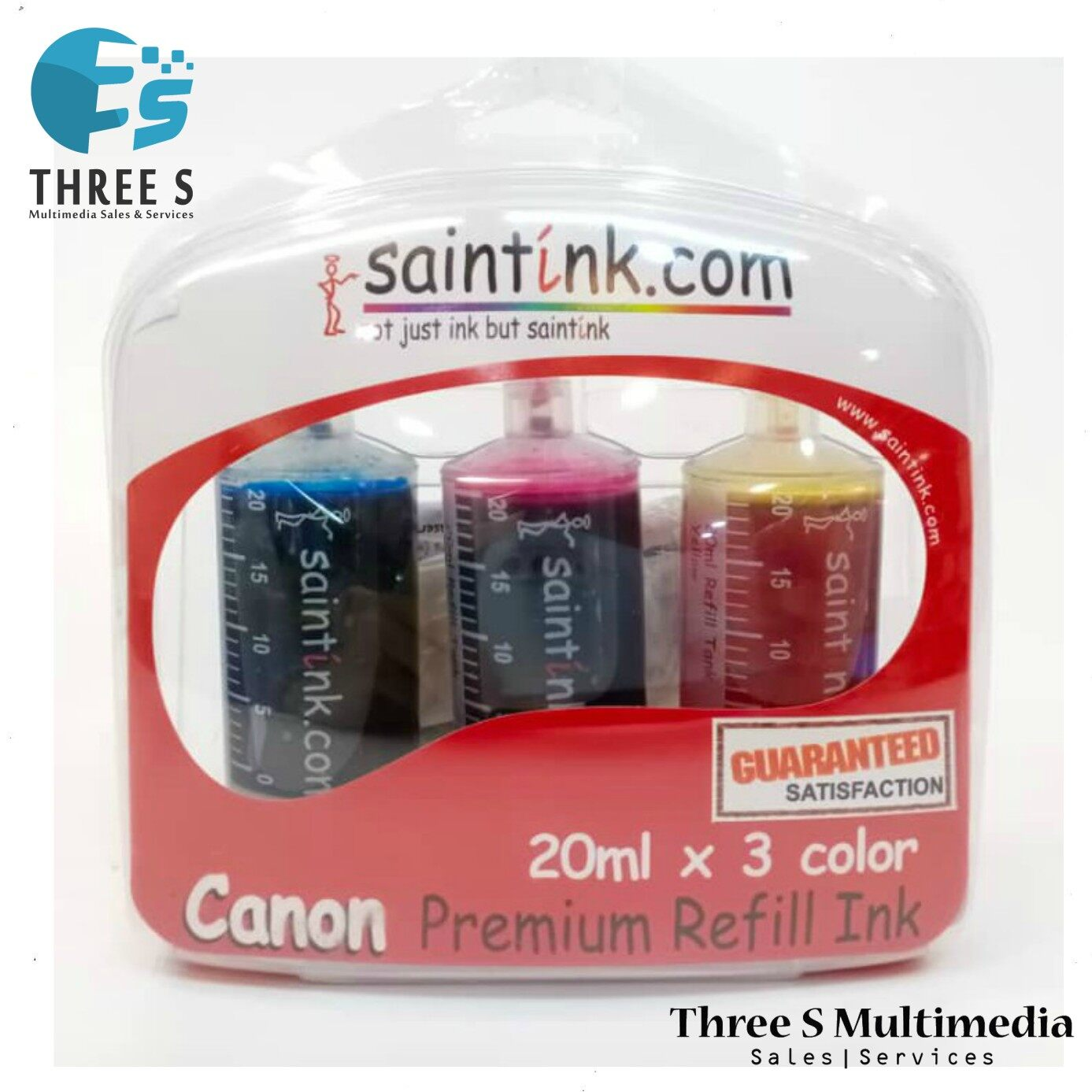 Saintink Refill Ink Canon E400/500/510/560/600/610 Ink