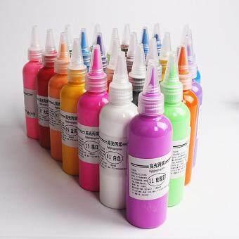 Kios 12 Color Acrylic Paint 12ml Box Kindergarten Elementary School ...
