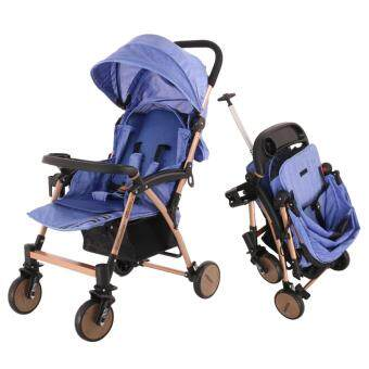 Alpha Living Baby Light Weight Travel Stroller Easy Folds and Pull Retractable Handle Rod