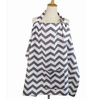 Baby Nursing Cover for Breastfeeding, Wide Hooter Hider, BreathableCotton