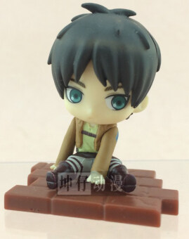Harga Bandai genuine bulk attack on Titan soldiers Long li weier/Alan Qversion sitting toy spot