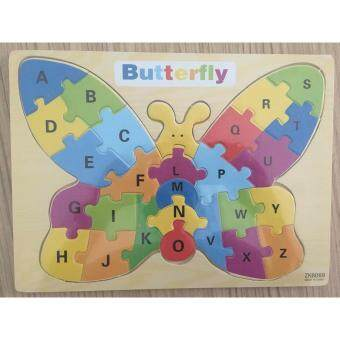 Butterfly ABC Jigsaw Puzzle