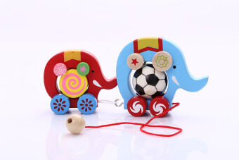 Harga Children's hand pull rope ribbon toy car toys