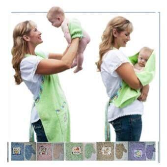 Features Ilovebaby Baby Swaddle Blanket Splash Wrap Bath Hooded