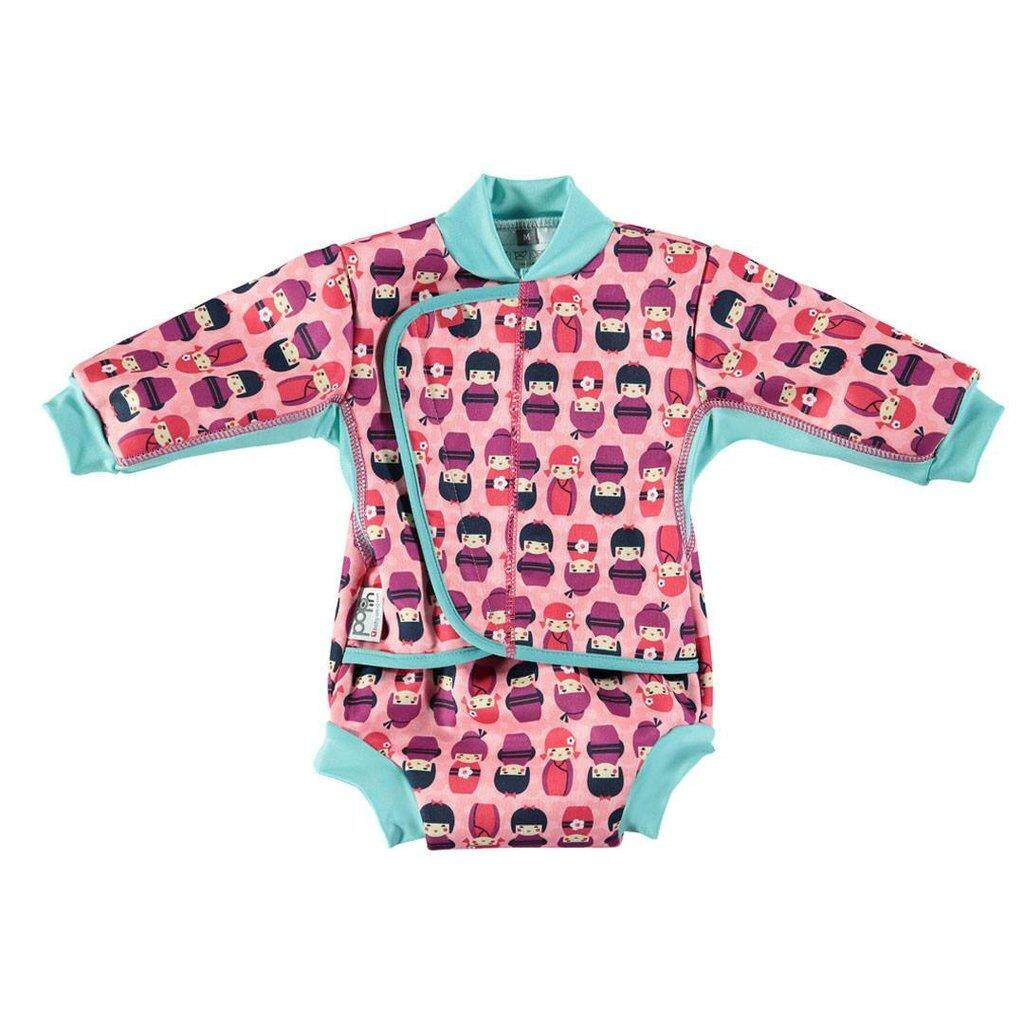 [CLOSE PARENT] Pop-in Baby Cozy Suit - Kokeshi Doll (sized M - for 6-12 months) *best buy