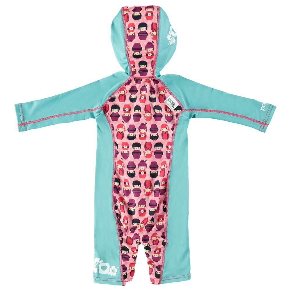 [CLOSE PARENT] Pop-in Beach All-in-one - Kokeshi Doll (sized L - 18 to 24 mths) *best buy