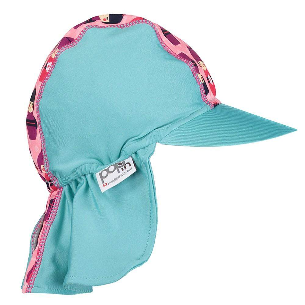 [CLOSE PARENT] Pop-in Peaked Sun Hat - Kokeshi Doll (sized XL - 2 to 3 yrs) *best buy