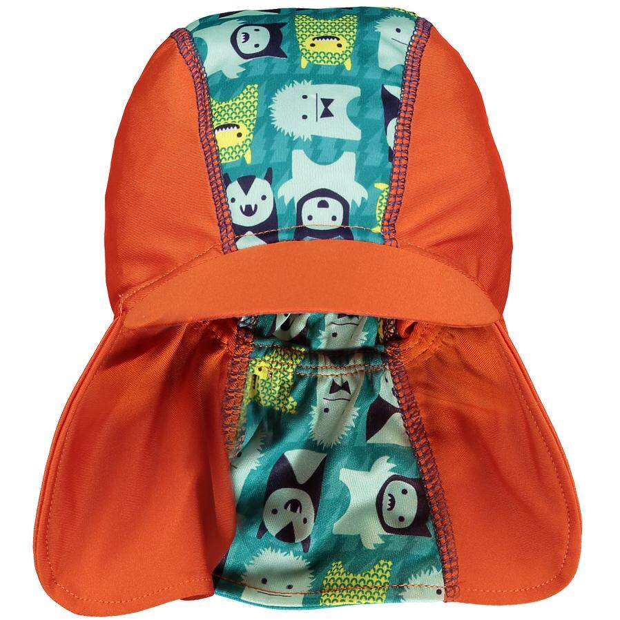 [CLOSE PARENT] Pop-in Peaked Sun Hat - Monster Herman (sized M - 6 to 12 mths) *best buy