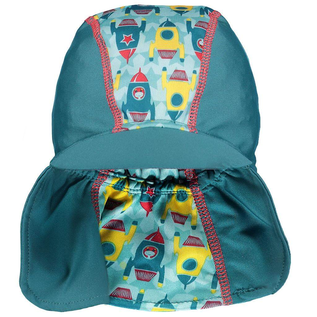 [CLOSE PARENT] Pop-in Peaked Sun Hat - Rocket (sized L -12 to 24 mths) *best buy